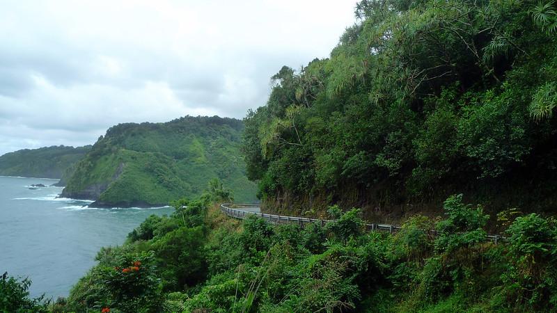 Hana Road and coast.