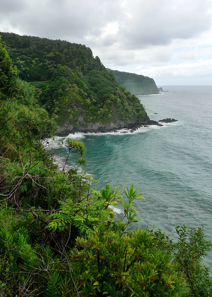 Some of the coastal views on the Hana Road.