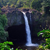 Rainbow Falls near Hilo on our way to the Volcano National Park.