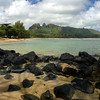 Anahola Beach Park on the east coast of Kauai.