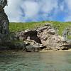 Avaiki Cave coastline