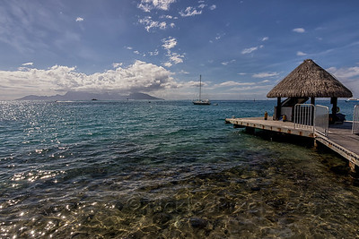 Moorea from Tahiti