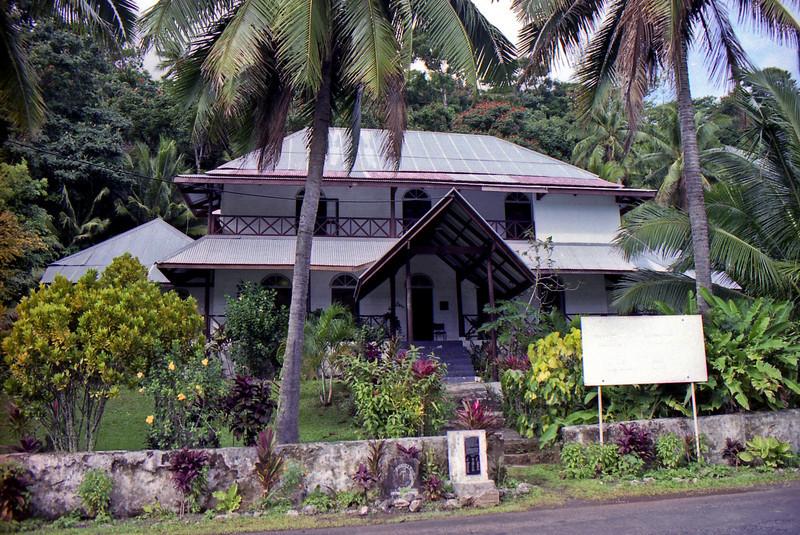 An old homestead in Avarua.