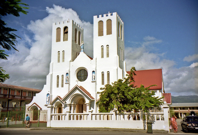 The Catholic Cathedral in Apia.