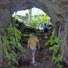 Pe'ape'a Cave on Savaii. It is actually a lava tube rather than a cave.