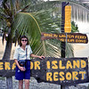 Robyn at the Erakor Island Resort in Vila.