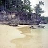 Happy Tok beach on Moso Island.