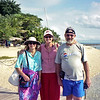 Robyn with Barb & Alan at Hideaway Island.