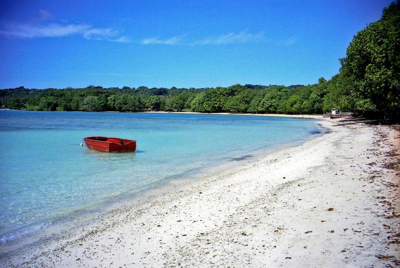 Another Aore Island beach.