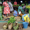 The market in Port Vila.