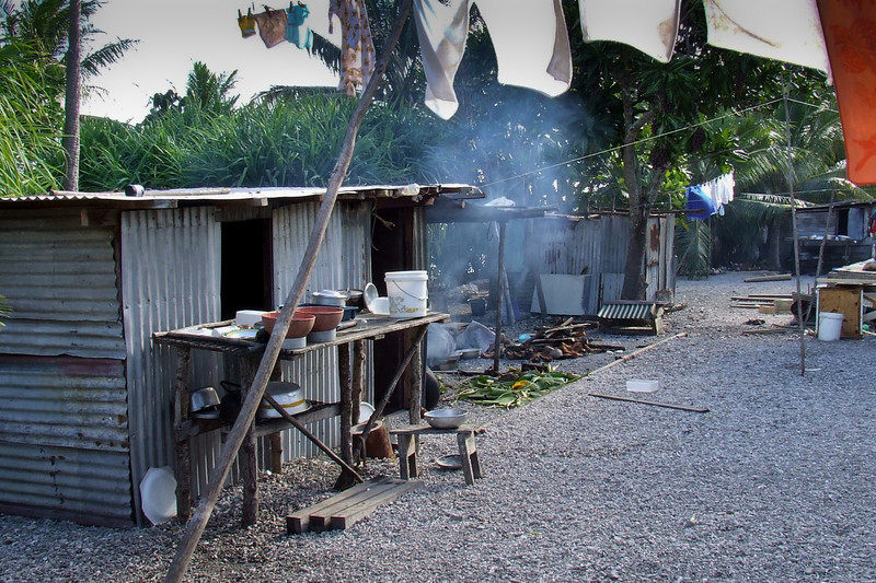 Lelepa Village. Most villages in Vanuatu are like this. They are basic but very tidy and clean.