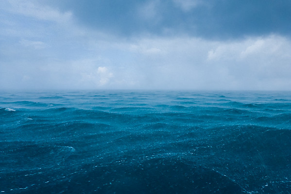Stormy waters in Papahānaumokuākea Marine National Monument