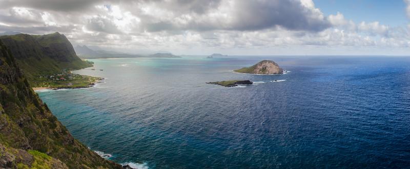 East coast of Oahu, HI