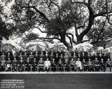 Seminar 1962 - Ojai