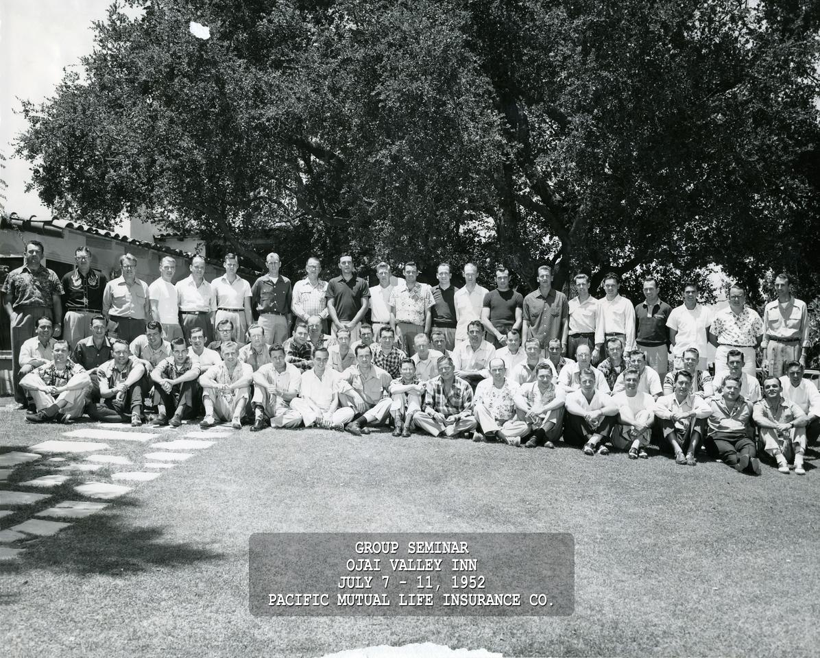 Seminar 1952 - Ojai