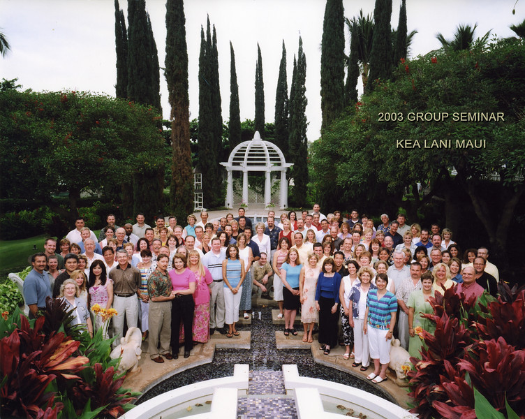 Seminar 2003 - Kea Lani Maui