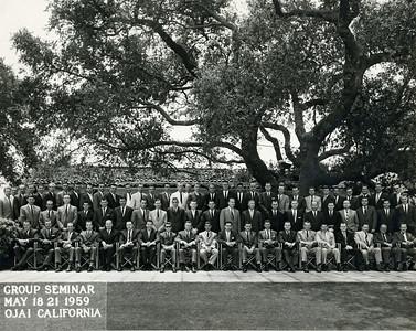 Seminar 1959 - Ojai