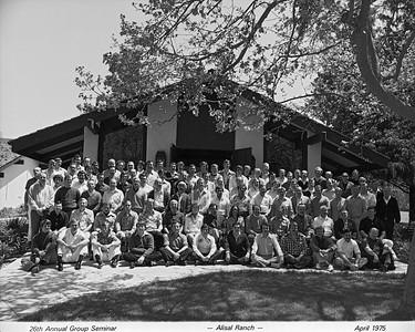 Seminar 1975 - Alisal Ranch