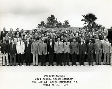 Seminar 1972 - Rancho Bernardo