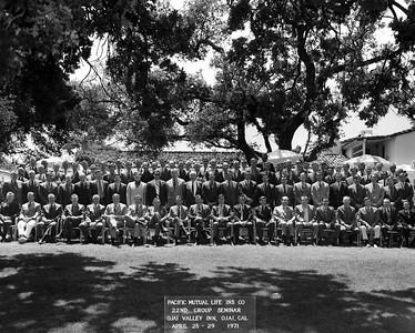 Seminar 1971 - Ojai