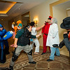 Mega Man, Kite, Chris Redfield, M. Bison, Dr. Wily, and Rikiya Busujima