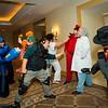 Mega Man, Kite, Chris Redfield, M. Bison, Dr. Wily, and Rikiya Busujima