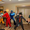 Ryu, Kite, M. Bison, Mega Man, Dr. Wily, Rikiya Busujima, and Chris Redfield