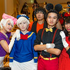 Daisy Duck, Donald Duck, Goofy, Mickey Mouse, and Minnie Mouse