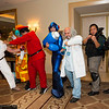 Ryu, Kite, M. Bison, Mega Man, Dr. Wily, Chris Redfield, and Rikiya Busujima
