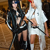Black Rock Shooter and White Rock Shooter