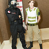 Umbrella Trooper and Rebecca Chambers