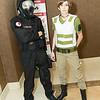 Umbrella Trooper and Rebecca Chambers