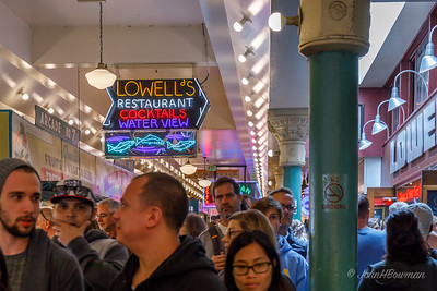 Moving through Pike Place Market can be challenging