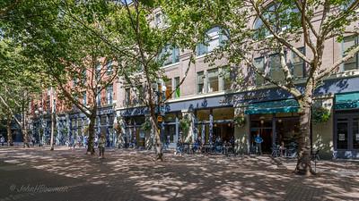 Occidental Square Pedestrian Area - Seattle