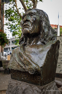 Bust of Chief Seattle in Pioneer Square
