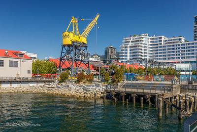 "Former Wallace Shipyards ""Heritage Crane"" - North Vancouver"