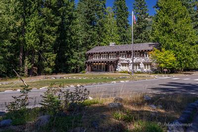 Mt. Rainier NP Trail of the Shadows -Historic Administration Building