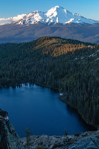 Mt. Shasta and Castle Lake