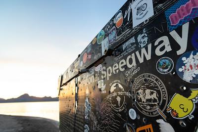 Bonneville International Speedway Sign