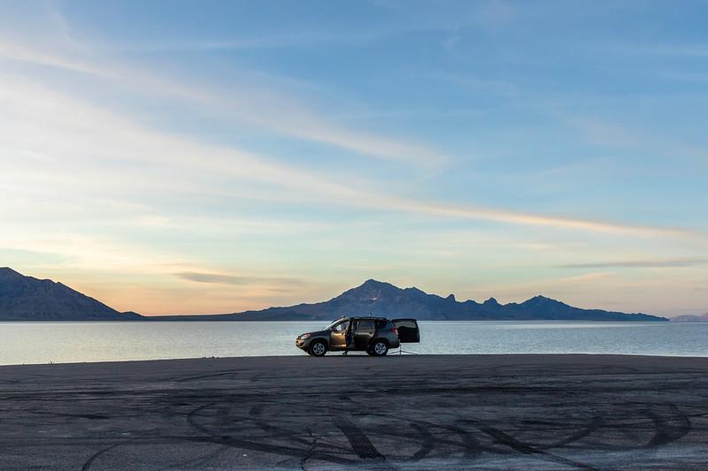 Bonneville Salt Flats - Utah