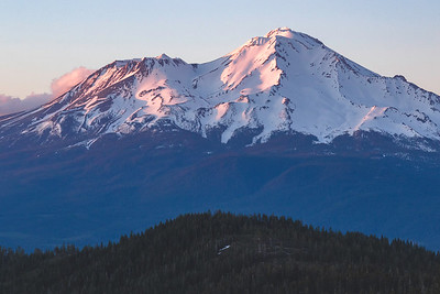 Fading light on the slopes of Mt. Shasta