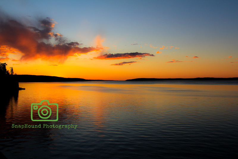 Sunset Over Whidbey Island
