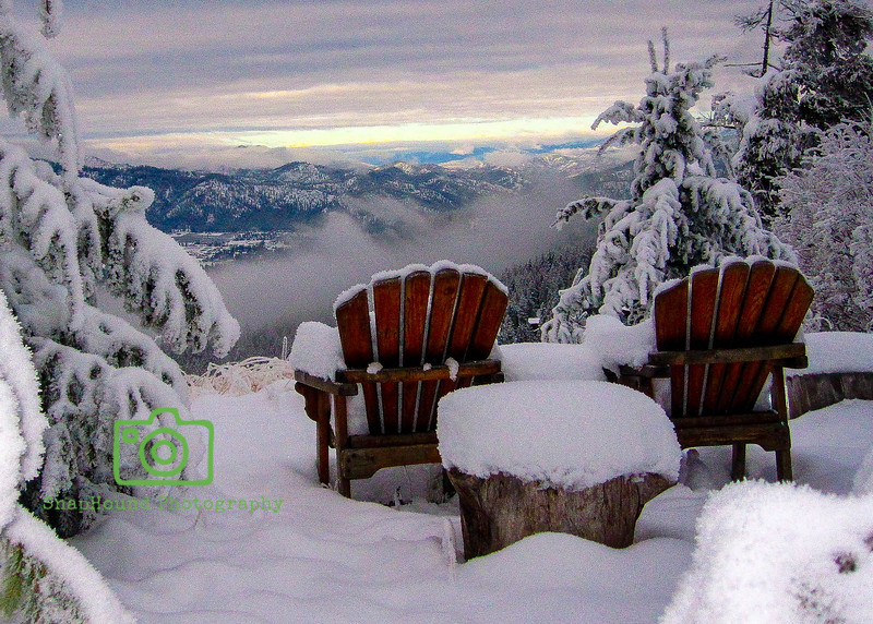 Snowy Solitude at Mountain Home Lodge, Leavenworth, Washington