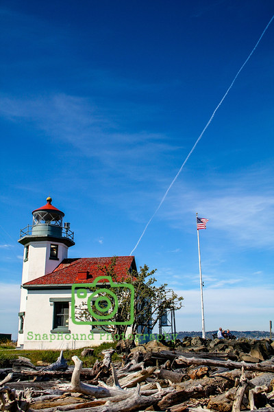 Point Robinson Lighthouse, Vashon Island, Washington