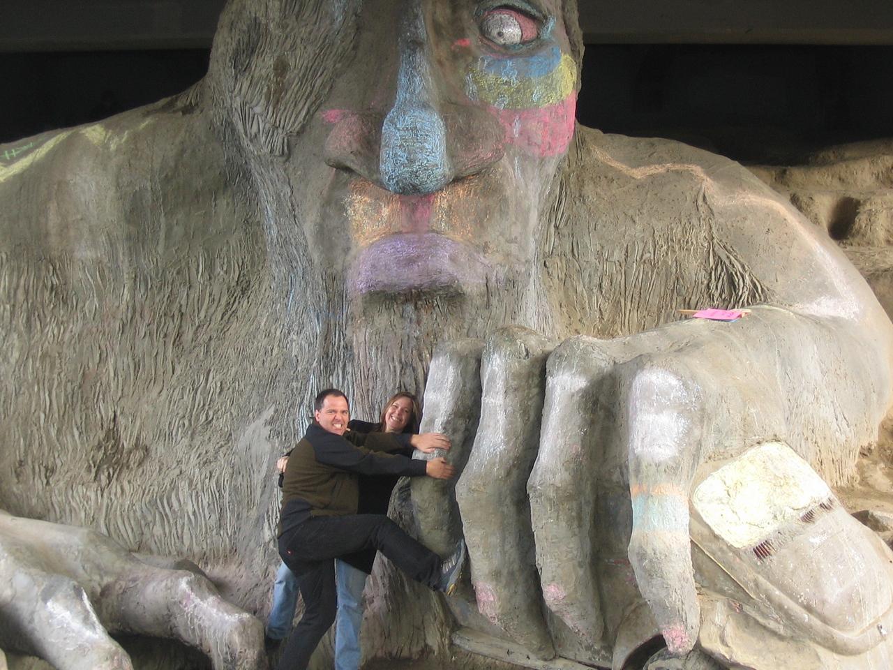 Doug & Karen at the troll