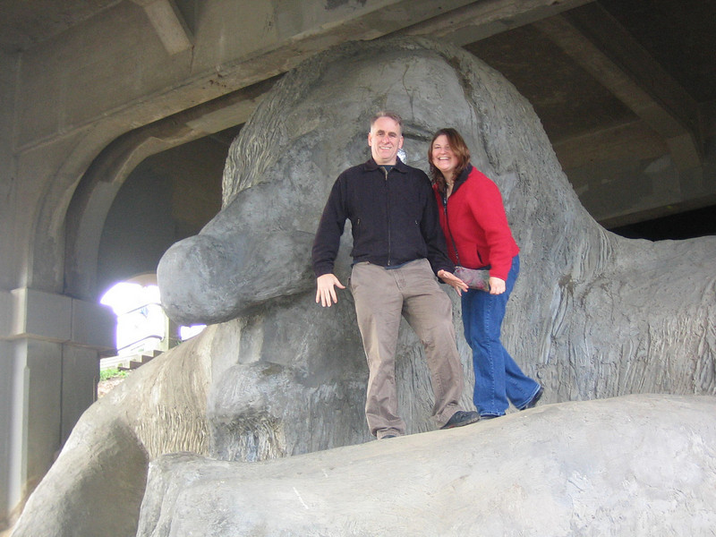 Gary, Shoshanna and the Fremont Troll