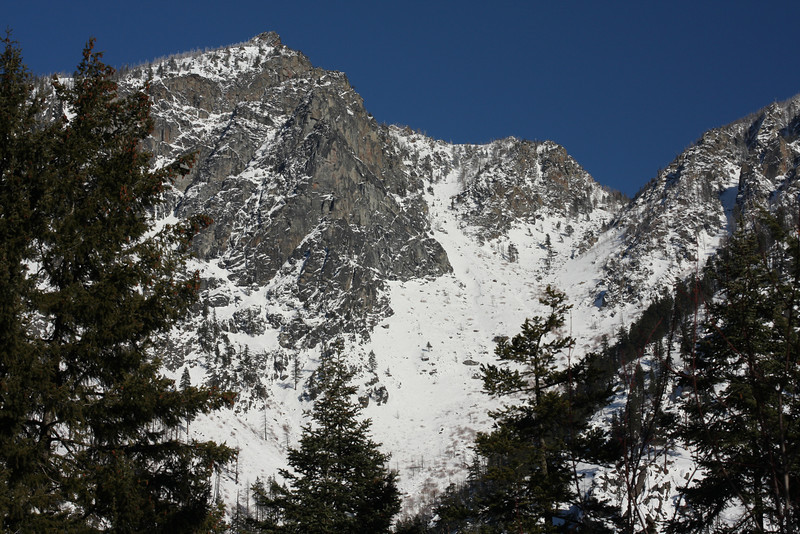 Mountains near Leavenworth.