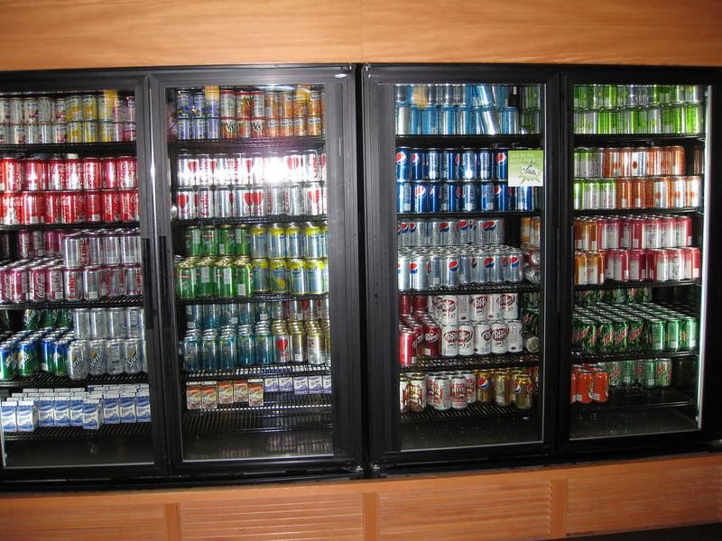 Microsoft's infamous free soda.