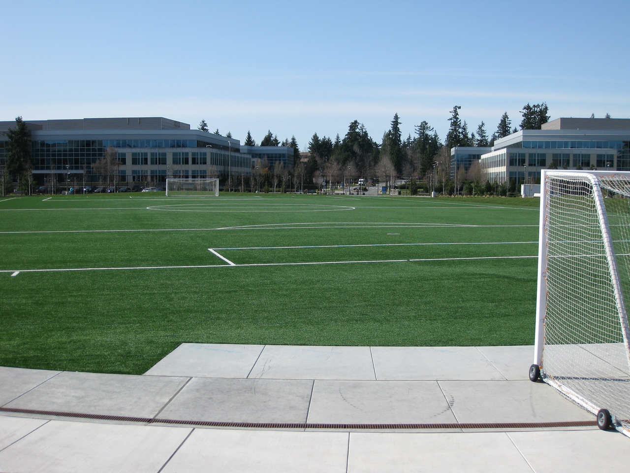 Soccer field at West Campus.