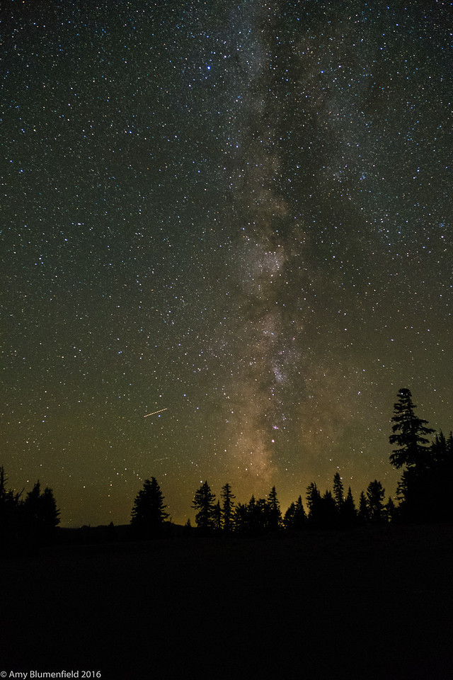 Milky Way near Crater Lake